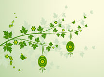 Easter branch Stock Images