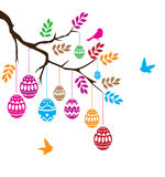 Easter Branch Vector Stock Photography