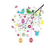 Easter Branch Vector Royalty Free Stock Image