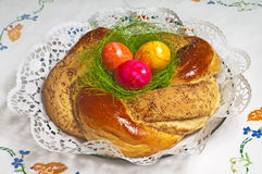 Easter Bread Stock Image