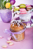 Easter bread Royalty Free Stock Images