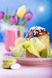 Easter bread Stock Photography