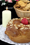 Easter bread Stock Photo
