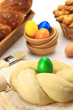 Easter bread dough Royalty Free Stock Photo