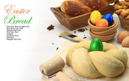 Easter bread dough Royalty Free Stock Image