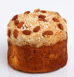 Easter Bread (Paska) Stock Photo