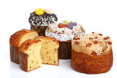 Easter Breads (Paska) Royalty Free Stock Photos