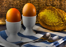 Easter Egg Breakfast Stock Images