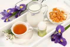 Easter breakfast Stock Photo