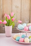 Easter breakfast table Royalty Free Stock Photography
