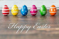 Easter brings a joy to us! Royalty Free Stock Photo