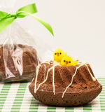 Easter Brownie Royalty Free Stock Photo