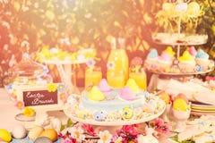 Easter brunch stock images