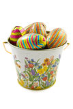Easter bucket Royalty Free Stock Images