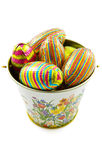 Easter bucket Stock Image