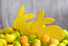 Easter bunnies Stock Photography