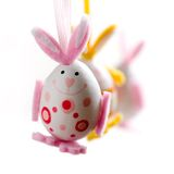 Easter bunnies Royalty Free Stock Photos