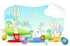 Easter Bunnies Stock Photos