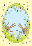 Easter bunnies Royalty Free Stock Images