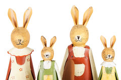 Easter bunnies family Royalty Free Stock Image