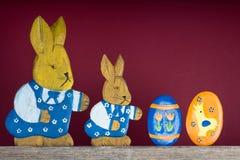 Easter bunnies Stock Photos