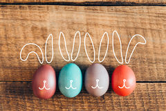 Easter Bunnies. Royalty Free Stock Photography