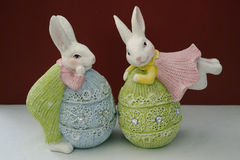 Easter bunnies Royalty Free Stock Image