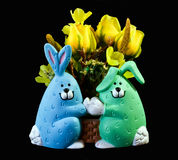 Easter bunny ornament  Royalty Free Stock Photos