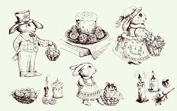Free Easter Bunny Royalty Free Stock Photography - 25009977