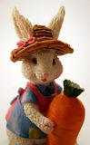 Easter bunny. Figurine royalty free stock photo