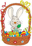 Easter Bunny. Vector clip-art / funny character for your design Stock Photo