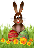 Easter bunny royalty free stock photo