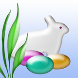 Easter Bunny Art Royalty Free Stock Photography