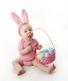 Easter bunny baby Stock Photo