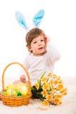 Easter bunny baby Stock Image