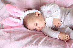 Easter bunny baby Royalty Free Stock Photography