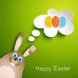 Easter bunny background Royalty Free Stock Photo