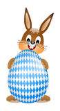 Easter bunny bavaria Stock Images