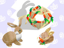 Easter bunny 01 Royalty Free Stock Images