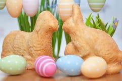 Easter Bunny Cake Stock Photos