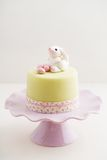Easter bunny cake Stock Photos