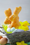 Easter bunny cakes Royalty Free Stock Images