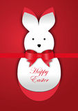 Easter bunny card Royalty Free Stock Photo