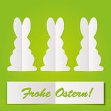 Easter Bunny card Royalty Free Stock Photography