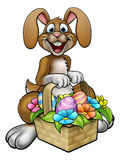Easter Bunny Cartoon Character vector illustration