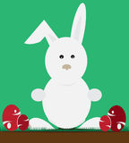 Easter Bunny Cartoon Illustration Royalty Free Stock Images