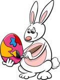 Easter bunny cartoon illustration Royalty Free Stock Photos