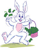 Easter Bunny Cash Stock Image