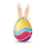 Easter bunny coming out soon! Royalty Free Stock Images
