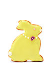 Easter Bunny Cookie Royalty Free Stock Photo